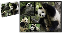 WWF 1000 pieces puzzle - Pandas