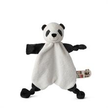 WWF Cub Club - Doudou plat Panda (avec velcro) - 30cm - %
