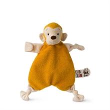 WWF Cub Club - Doudou plat Singe jaune (avec velcro) - 30cm - %