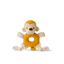 WWF Cub Club - Hochet peluche Singe jaune (avec grelots) - 15cm - %