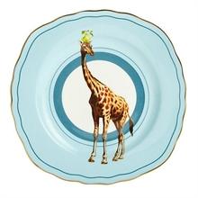 YE - Assiette plate 16,5 cm Girafe