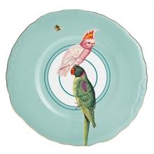 YE - Assiette plate 22 cm Perroquet