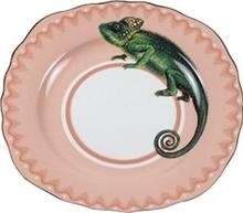 YE - Assiette plate 16,5cm Caméléon