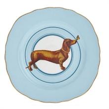 YE - Assiette plate 16,5 cm Teckel