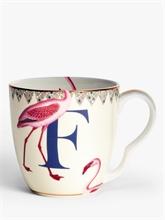 YE - Mug 40 cl Alphabet F
