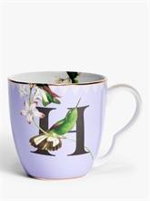 YE - Mug 40 cl Alphabet H