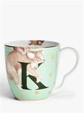 YE - Mug 40 cl Alphabet K