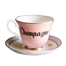 YE - Paire Tasse thé 28 cl Champagne