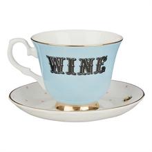YE - Paire Tasse thé 28 cl Wine