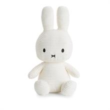 Miffy - Lapin velours cotelé blanc - 33 cm - %