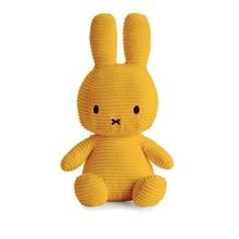 Miffy - Lapin velours cotelé moutarde - 33 cm - %