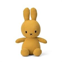 Miffy - Lapin en mousseline moutarde - 23 cm - %