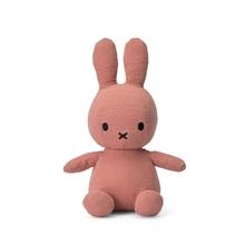 Miffy - Lapin en mousseline rose - 23 cm - %