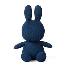 Miffy  - Lapin Denim Brut - 23 cm - %