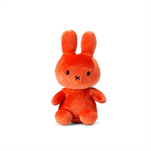 Miffy - Porte-clés Lapin velours orange bonbon - 10 cm - %