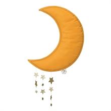 Picca Loulou - Lune jaune avec étoiles - 45 cm %