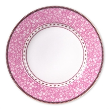 PIP - Assiette plate Floral Lovely Branches Rose - 26,5cm