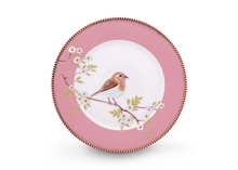 PIP - Assiette dessert Early Bird Rose - 21cm