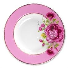 Assiette creuse Floral Rose - 21,5cm