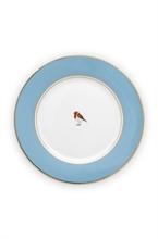 PIP - Love Birds Assiette dessert Bleu - 21cm