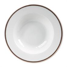 HC6 PIP Assiette à pâtes Floral Blanc - 27cm#