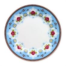 Assiette à pain Blossom Bleu - 17cm
