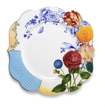 PIP - Assiette plate Royal Flowers - 28cm