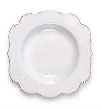 Assiette creuse Royal Blanc uni - 23,5cm