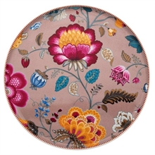 Assiette présentation Floral Fantasy Blooming tails Kaki - 32cm