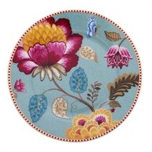 Assiette présentation Floral Fantasy Blooming tails Bleu - 32cm