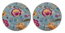 HC4 PIP Coffret 2 assiettes 17cm Flo Fantasy/Bloom Bleu#