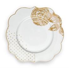 PIP Assiette à pain Royal Blanc décoré - 17cm