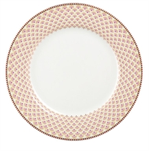 HC4 PIP Assiette plate Flo Blooming Tails Blanc - 26,5cm#