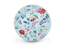 PIP Assiette présentation Floral2 Hummingbirds bleu - 32cm