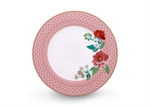 HC2 PIP Assiette plate Floral2 Rose rose - 26.5cm - #