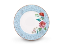 PIP Assiette plate Floral2 Rose bleu - 26.5cm