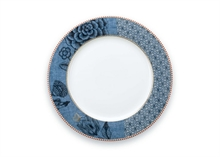 HC3 PIP Assiette plate Flo Spring to life Bleu - 26.5cm #