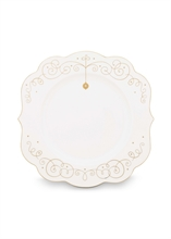 PIP Assiette plate Royal Christmas Blanc - 28cm