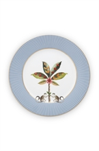 PIP - Assiette dessert  La Majorelle Bleu - 21cm