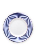 PIP - Assiette petit four Royal Stripes - 12cm