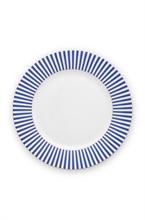 PIP - Assiette plate Royal Stripes - 26,5cm