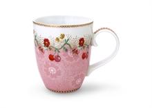 Grand mug Floral2 Cherry rose - 35cl