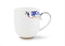 HC2 PIP - Grand mug Royal Blanc dots - 32,5cl#