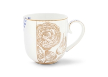PIP - Petit mug Royal Blanc flower - 26cl