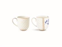PIP Coffret 2 petit mug Royal Blanc#