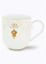 PIP Grand mug Royal Christmas Blanc - 32.5cl