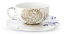PIP - Paire tasse à thé Royal Blanc - 225ml