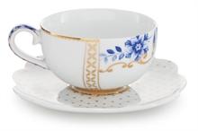 PIP - Paire tasse à café Royal Blanc - 125ml
