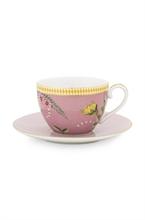 PIP - Paire tasse thé La Majorelle Rose 280ml