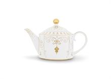 HC PIP Théière Royal Christmas Blanc - 900ml - #